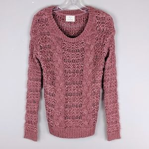 Anthropologie | Dusty Pink Sweater